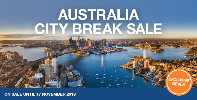 Australia City Break Sale