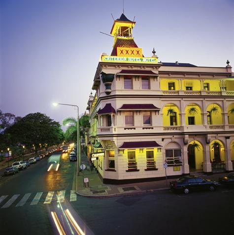 Rockhampton and surrounds great accommodation hotels for Great accommodation