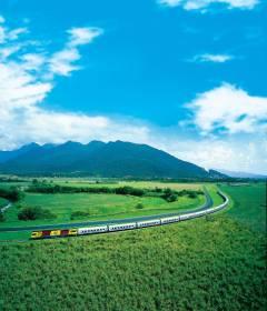 QR (Queensland Rail) Sunlander: Cairns-Brisbane / Economy Seat ...