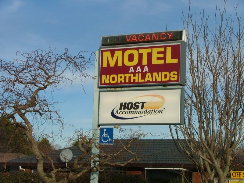 outdoor - AAA Northlands Motel