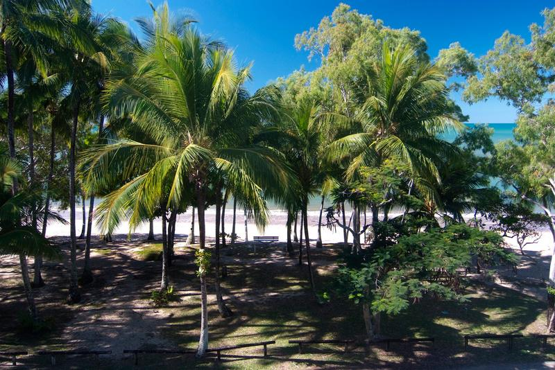 View from balcony - Agincourt Beachfront Apartments