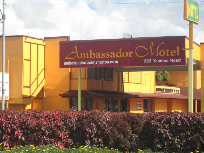 Front Entrance - Ambassador Motel