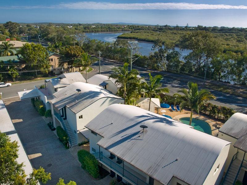 Aerial View of Anchor Motel Noosa - Anchor Motel Noosa