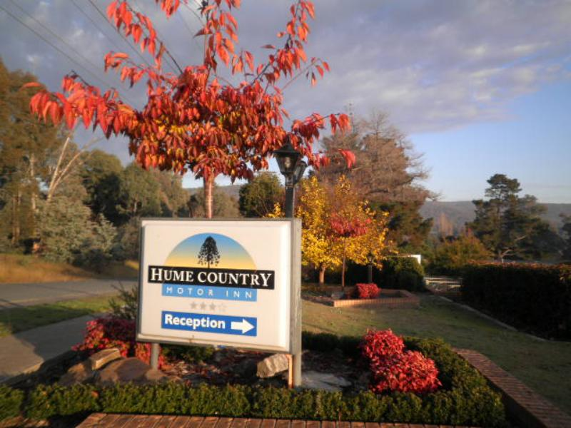 Autumn colour to our Entrance - Sundowner Hume Country Motor Inn