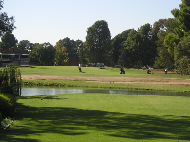 18th Green - Mildura Golf Club Resort