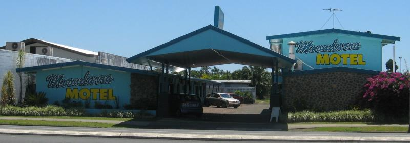 front view - Moondarra Motel