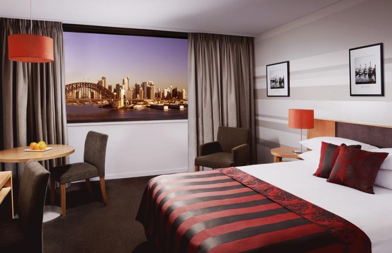 Standard Double Harbourview Room - North Sydney Harbourview Hotel