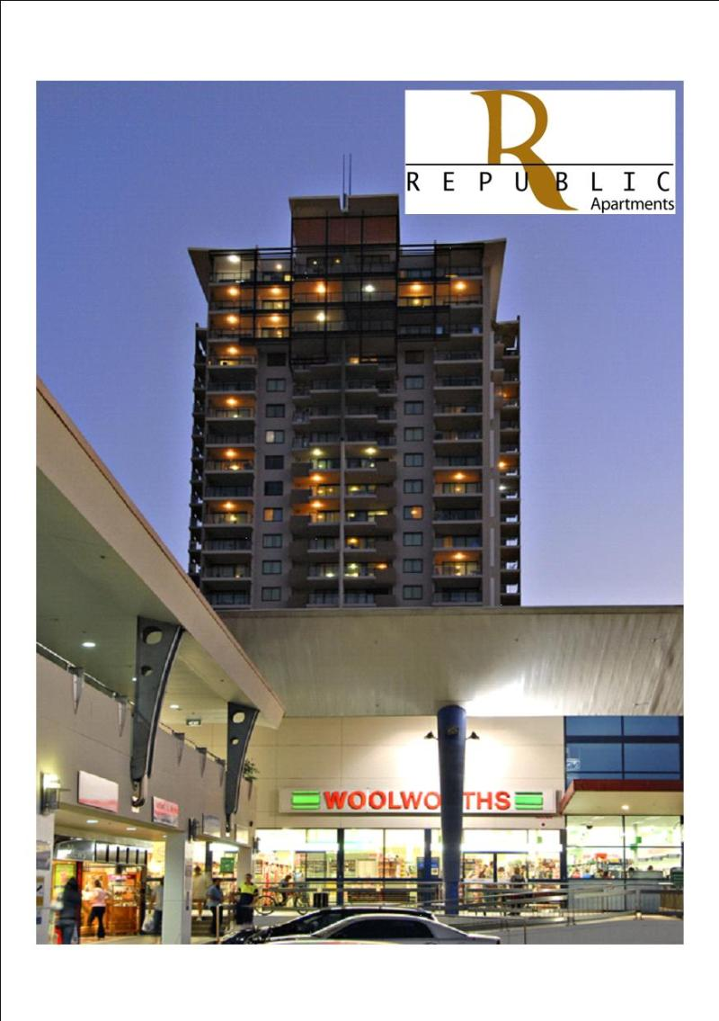 Shopping below makes life a lot easier! - Republic Apartments