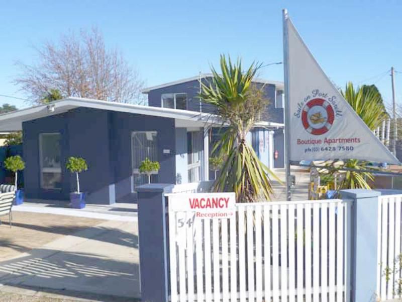 Welcome - Sails on Port Sorell Boutique Apartments