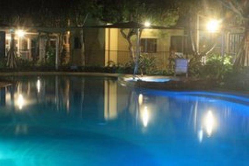 Seacove Pool by Night - Seacove Resort Coolum