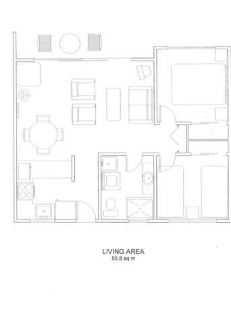 Floor Plan - Tradewinds McLeod Holiday Apartments