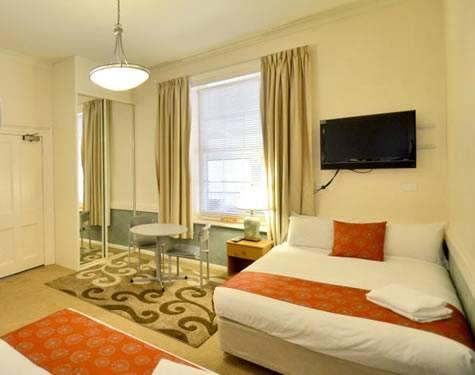 Adelaide City Park Motel bedroom - Adelaide City Park Motel