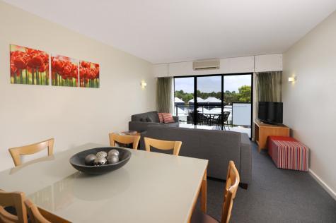Superior 3 Bed Living Area - Assured Ascot Quays Apartment Hotel