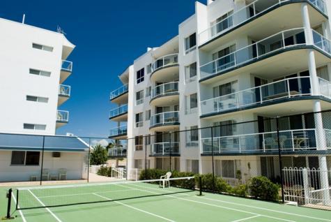 Tennis Court - Bargara Blue Resort
