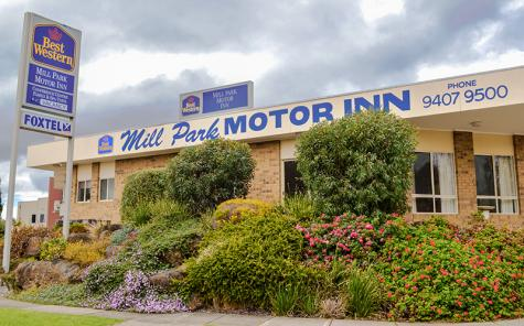 Exterior of property - Best Western Mill Park Motel