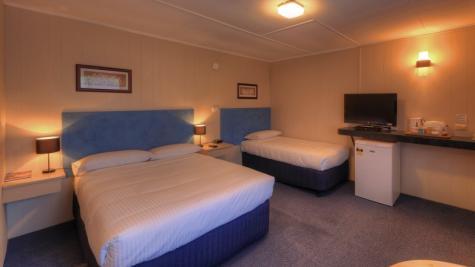 Queen room - Best Western Murchison Lodge