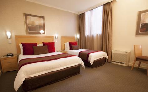Twin Room - Best Western Plus Travel Inn Hotel