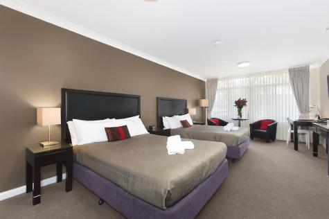Twin Deluxe Room - Checkers Resort and Conference Centre