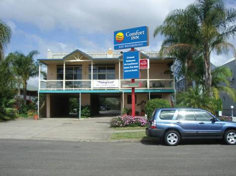 External - Bay Executive Motel