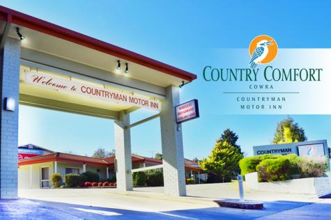 Motel front - Country Comfort Cowra