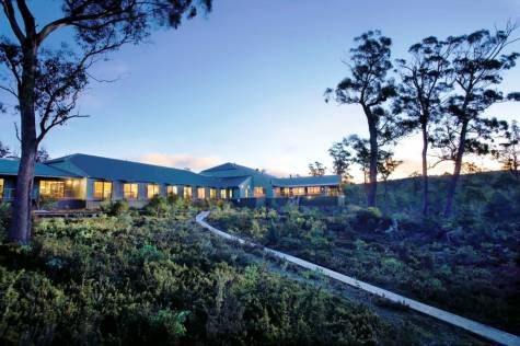 External - Cradle Mountain Hotel
