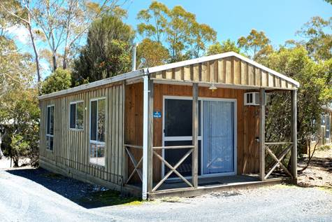 2 Bedroom Cottage Exterior - Discovery Holiday Parks Cradle Mountain