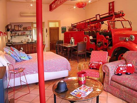 Fire Engine - Fire Station Inn