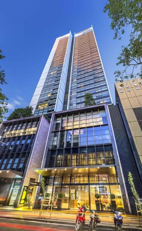 Exterior - Fraser Suites Sydney