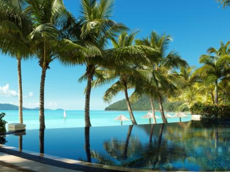 Beach Club Infinity Pool - Hamilton Island Beach Club