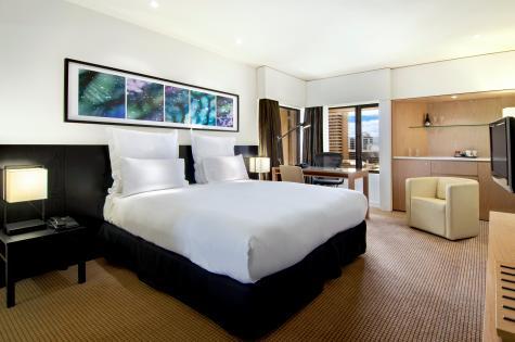 Hilton Deluxe Room - Hilton Adelaide