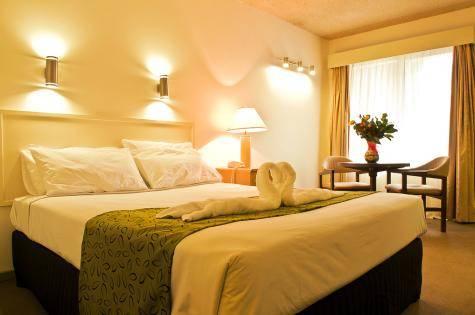 Bedroom - Lamplighter Motel
