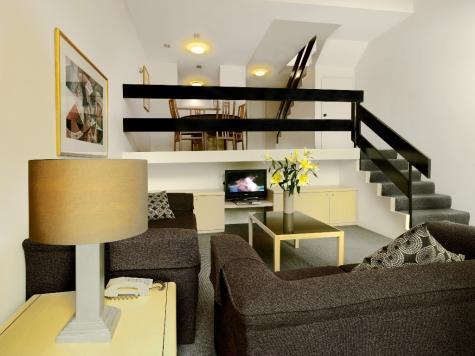 Lounge Area - Loft - Medina Serviced Apartments North Ryde, Sydney