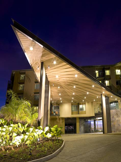 Entrance - Adina Apartment Hotel Darwin Waterfront