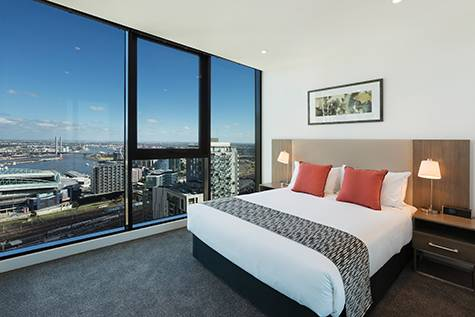 2 Bedroom - Melbourne Short Stay Apartments on Lonsdale