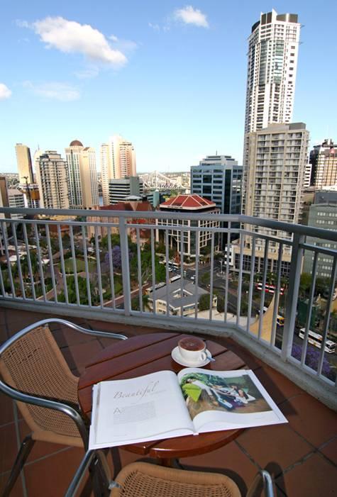 Balcony - Novotel Brisbane