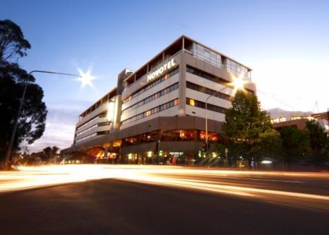 Exterior Night View - Novotel Canberra