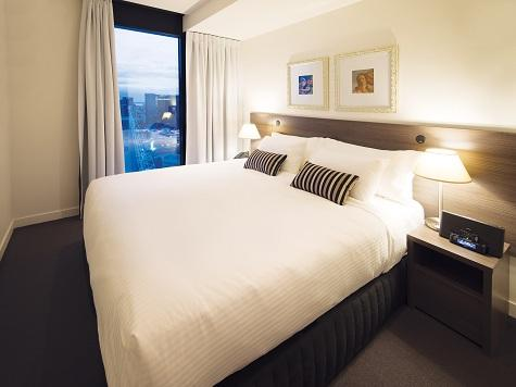 1 Bed Bedroom - Oaks Wrap on Southbank