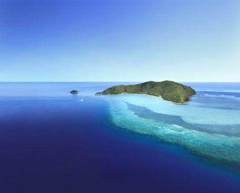 Island Aerial - One&Only Hayman Island