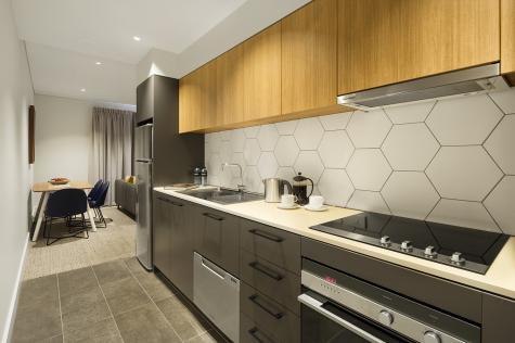 One Bedroom Kitchen - Quest Port Adelaide