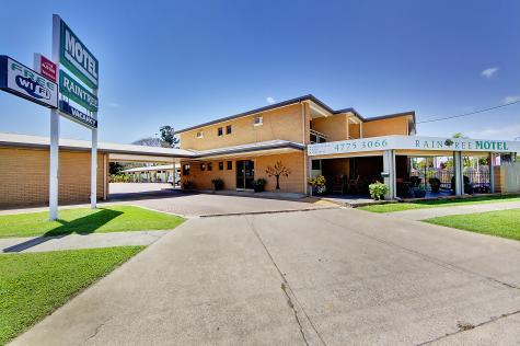 Raintree Motel Main - Raintree Motel Townsville