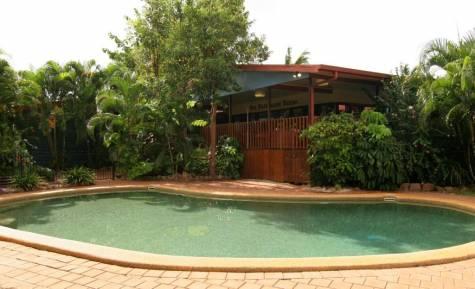 Pool and Restaurant - Cape York Peninsula Lodge
