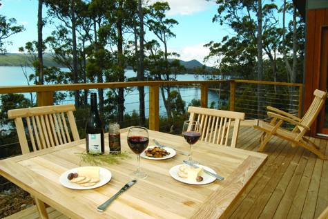 Balcony - Stewarts Bay Lodge