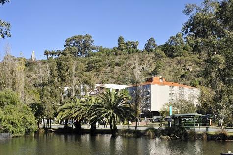 Exterior from John Oldham lake - Sullivans Hotel Perth