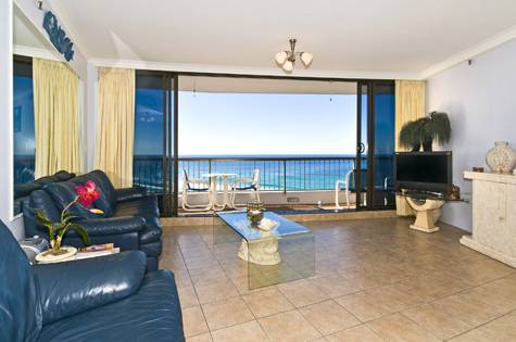 2 Bedroom Apartment - Surfers International Apartments