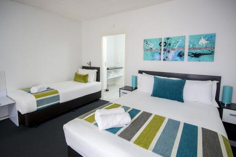 Standard Room - The Beach Motel Hervey Bay