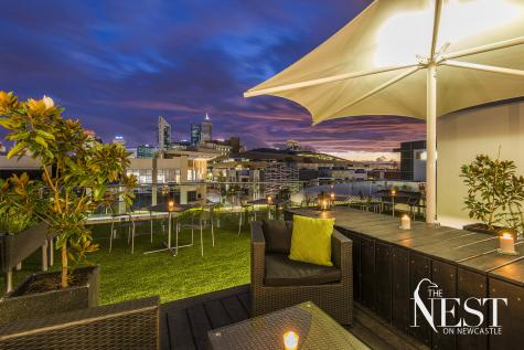Rooftop Garden - The Nest on Newcastle