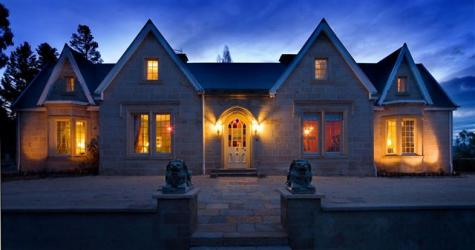 The Priory Country Lodge at dusk - The Priory Country Lodge