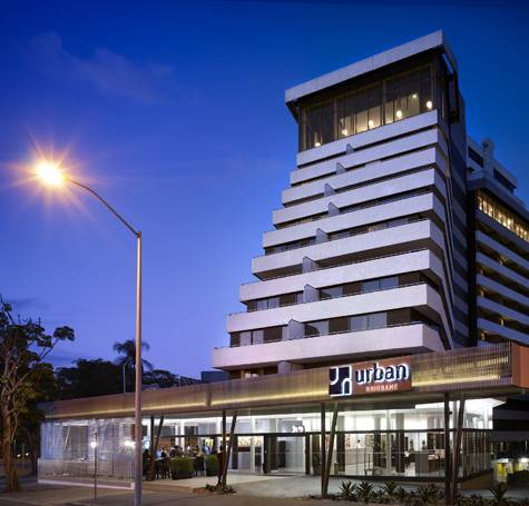 External - Hotel Urban Brisbane
