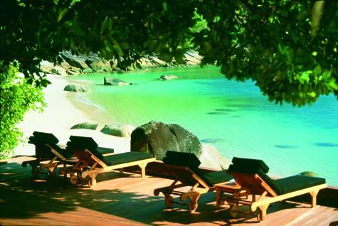 Beach - Bedarra Island Resort