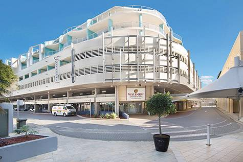 Exterior - Waldorf Apartment Hotel The Entrance